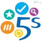 5S - Sort, Set, Shine, Standardize, Sustain