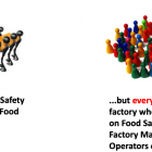 ...but everyone within the factory who has an impact on Food Safety, from the Factory Manager to the Operators on the line